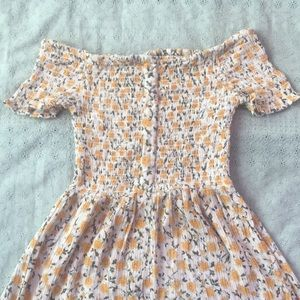 Floral dress from Urban Outfitters